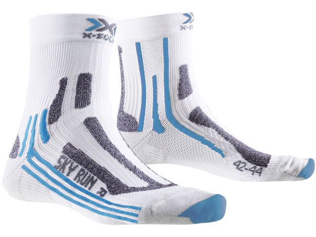 X-Socks Sky Run 2.0 Socks Women White/Turquoise